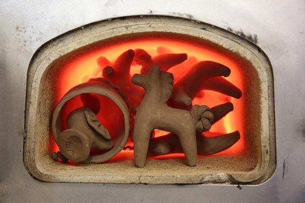 Сушка изделий из глины