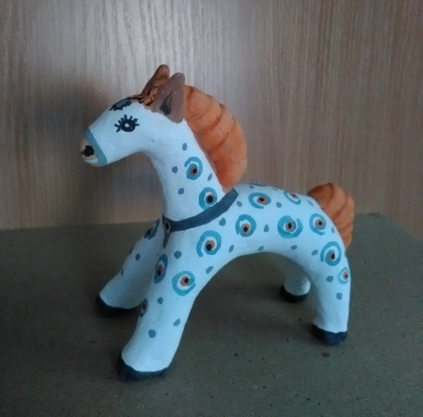 Лошадка из глины своими руками 35