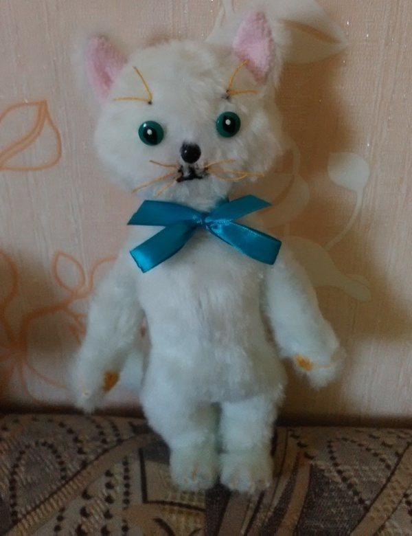 Мягкая игрушка своими руками котик