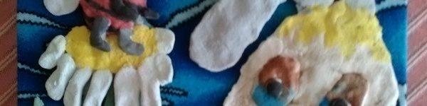 Панно из муки и соли детские поделки