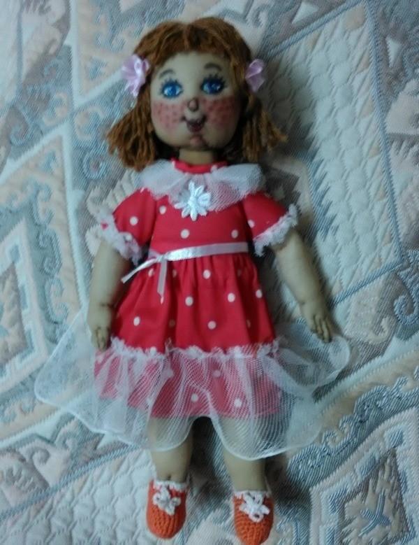 Кукла из капроновых колготок мастер класс