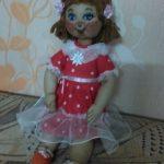 Кукла из капроновых колготок мастер-класс
