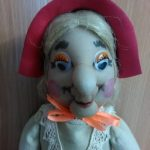 Кукла домовиха из капрона