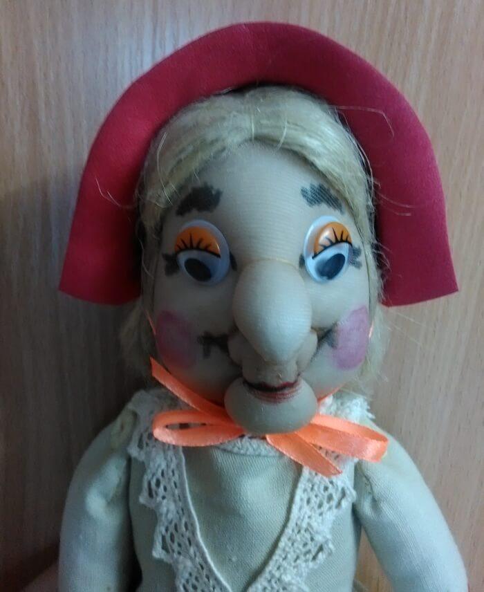 Кукла из капрона своими руками фото 77