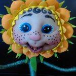 Кукла из капрона для начинающих