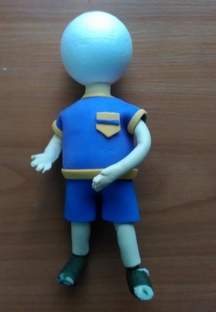 Как сделать игрушку мальчика из фоамирана