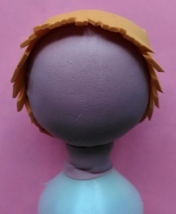 Интерьерная кукла повар из фоамирана