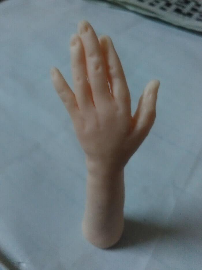 Как сделать куклу из пластика