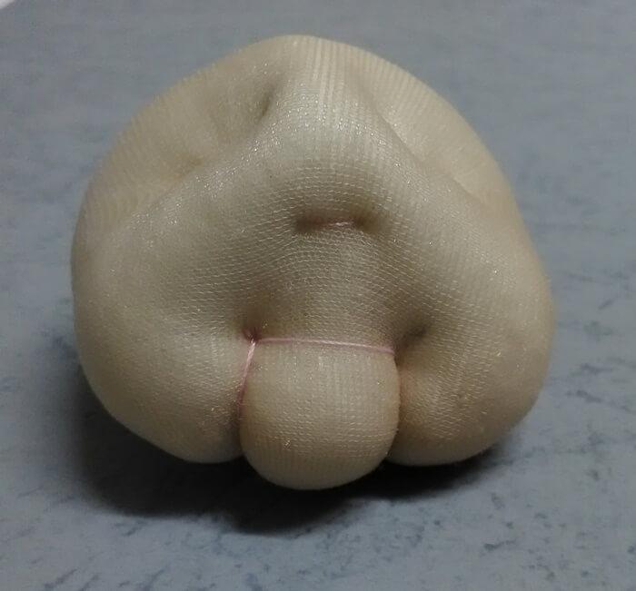 Игрушка из капрона петушок