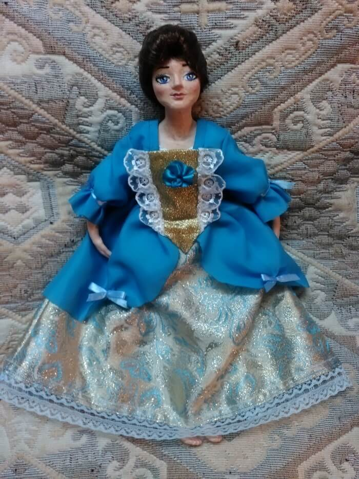 Как сшить платье кукле