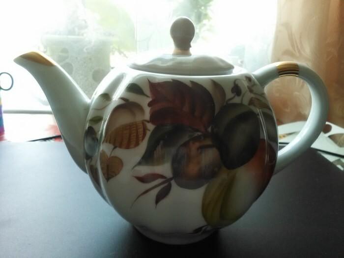 Грелка на чайник из зонтика