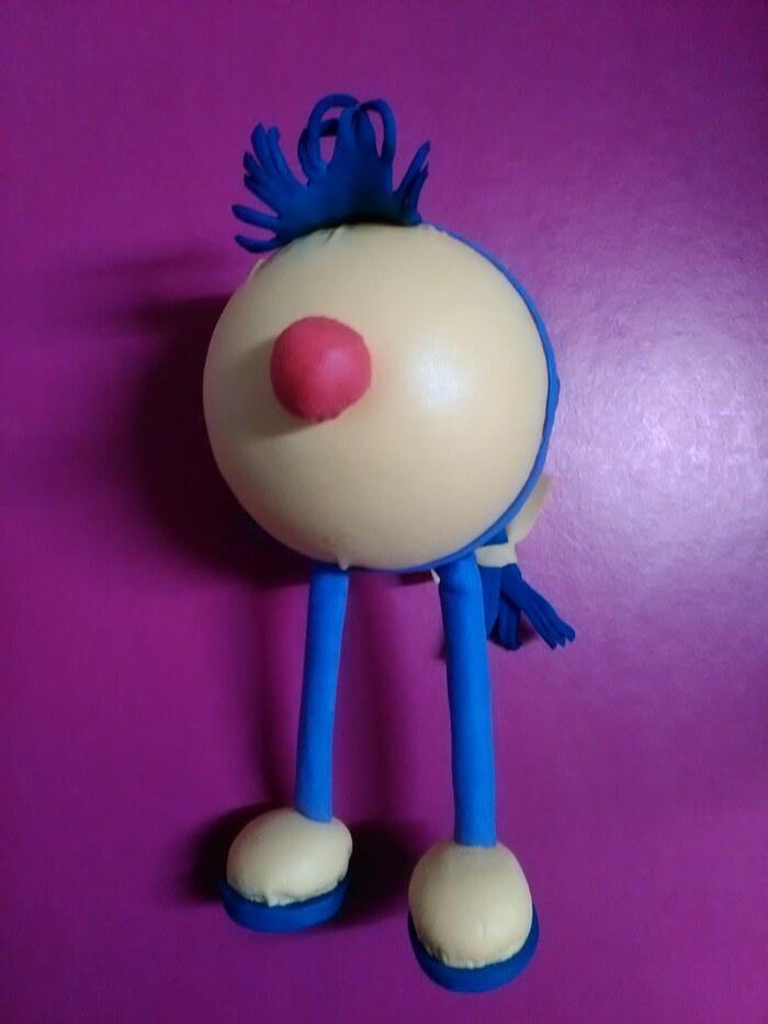 Игрушка Счастье из фоамирана