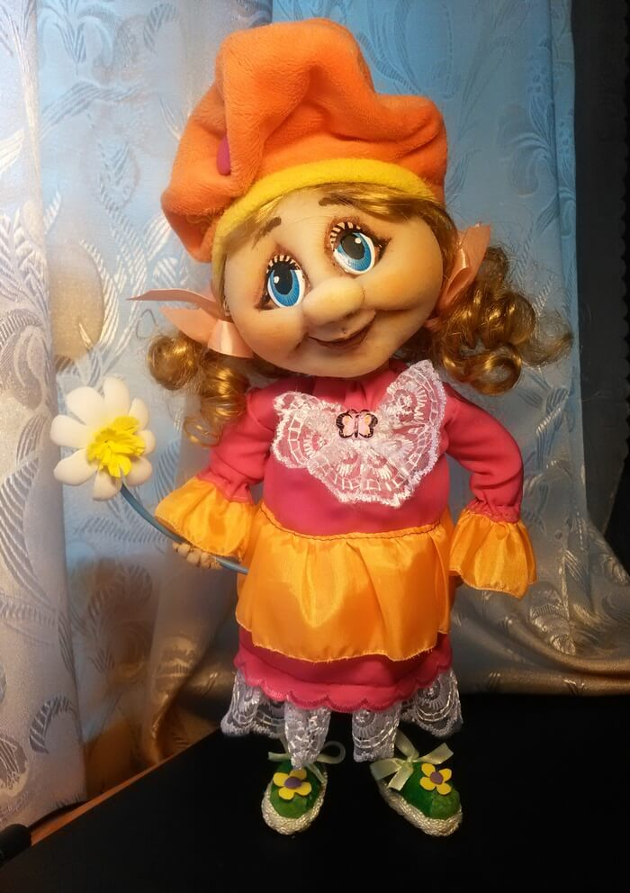 Кукла из капрона своими руками фото 517