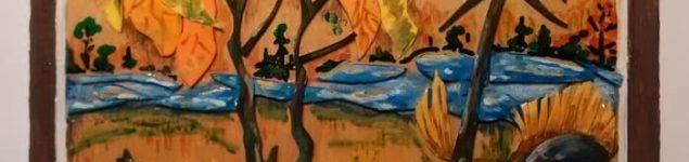 Картина из отходов фоамирана