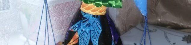 Игрушка из текстиля Весы