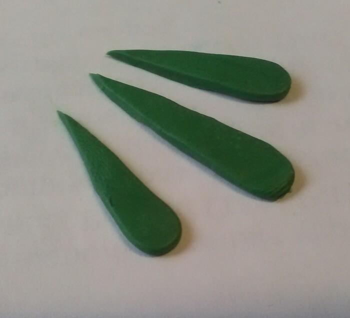 Брошь птица из полимерной глины
