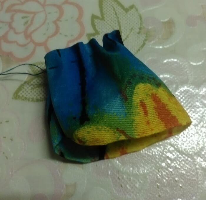 Текстильная игрушка модная кошечка