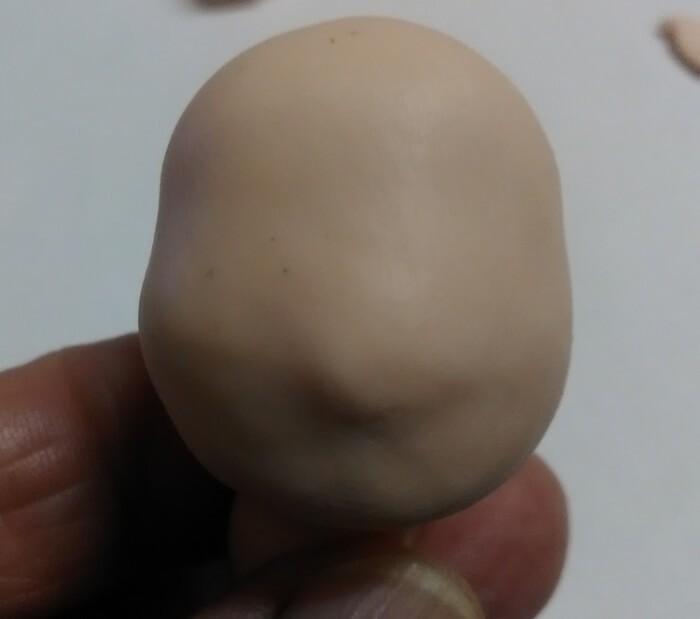 Новогодний сувенир елочка из полимерной глины