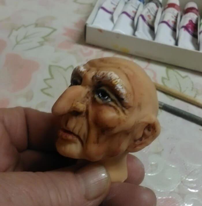 Кукла своими руками из полимерной глины