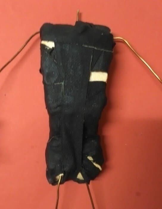 создание объема туловища куклы