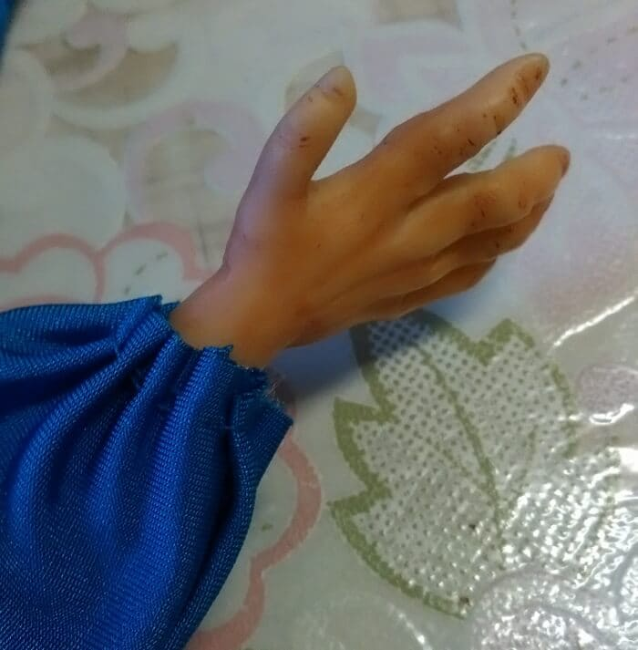 одежда для куклы из глины