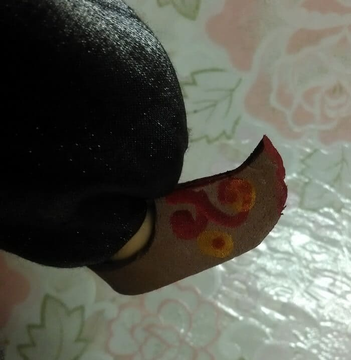 обувь для куклы из глины