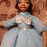 кукла из глины игрушка