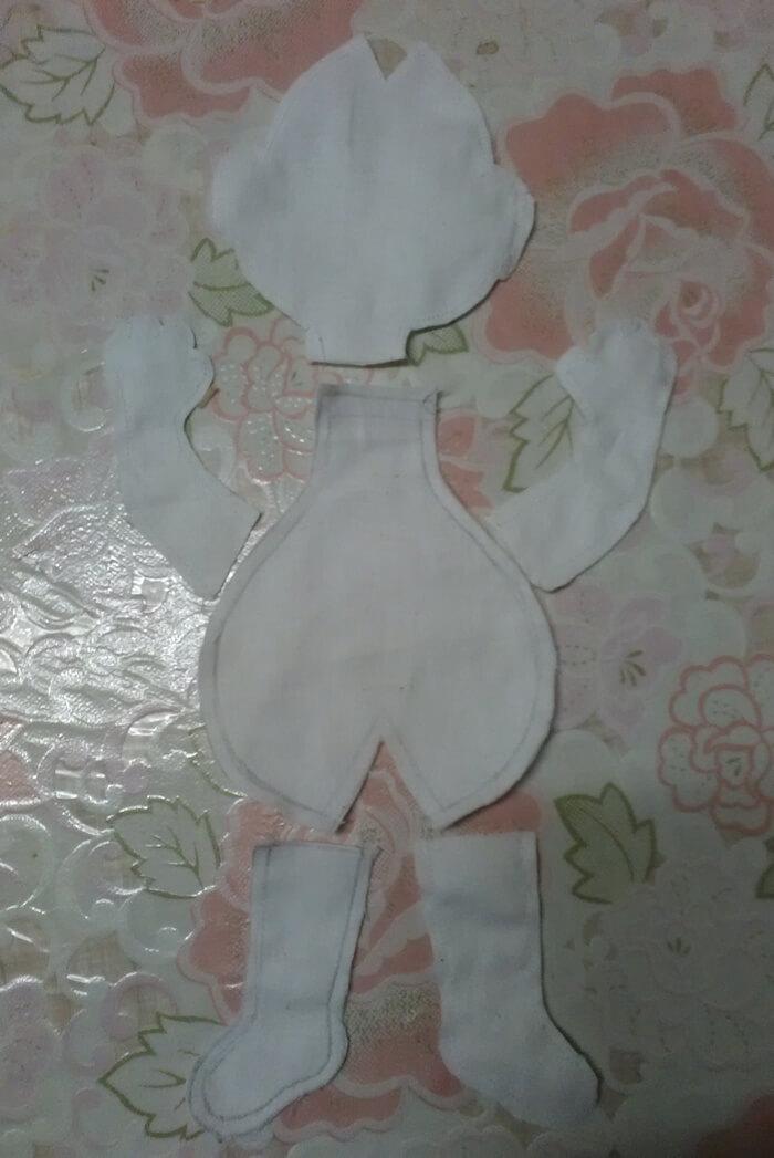 Игрушка из ткани своими руками. Текстильная кукла. Выкройка.